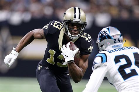 saints michael thomas agree   year contract extension
