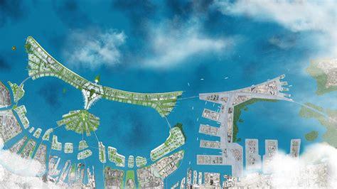 jakarta sea wall shaped  garuda architectural digest
