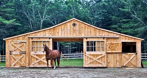Prefabricated Horse Barns