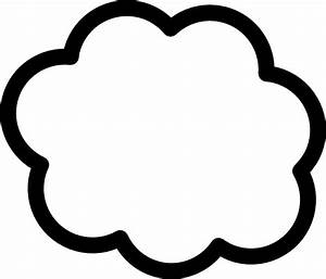 Cloud Clip Art Black And White | Clipart Panda - Free ...