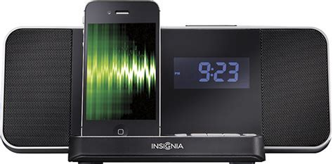 Best Buy: Insignia? Docking Clock Radio for Apple® iPod
