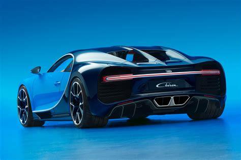 Bugatti Chiron Revealed At Geneva 2016