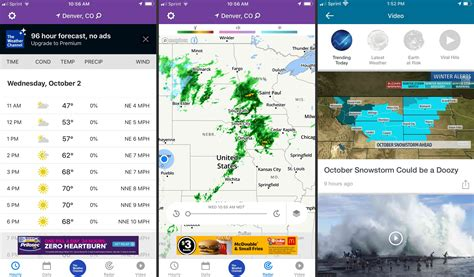 tracker storm weather channel apps app casual