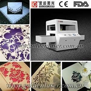 greeting wedding invitation card paper laser cutting With laser cut wedding invitations machine price