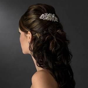 Wedding Hair Combs Crystal Wedding And Bridal Inspiration
