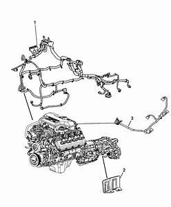 2008 Dodge Durango Wiring - Engine