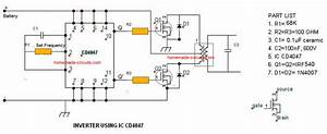 Inverter Circuit Diagrams Without Transformer