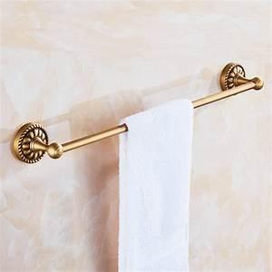 barre porte serviette en laiton pour salle de bain style retro With porte d entrée pvc avec acheter lavabo salle bain