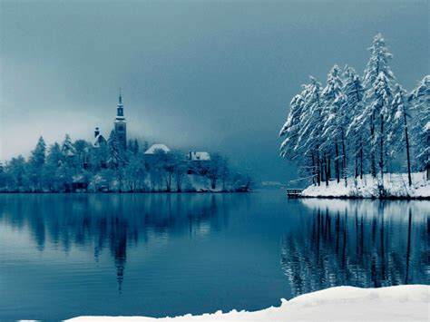 ice cold lake hd wallpapers