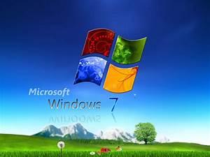 3D Wallpaper Windows 7 Pro