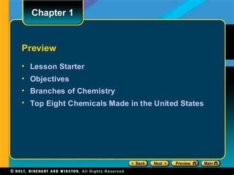 Chemistry Chapter 1 Lesson1 Powerpoint 1