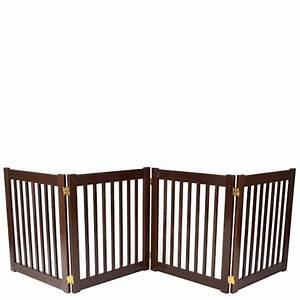 four panel ez pet gates dog gates for homes With 4 panel dog gate