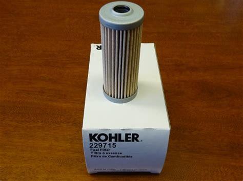 Kohler Fuel Filter by Kohler 229715 Fuel Filter Replaces Gm10979