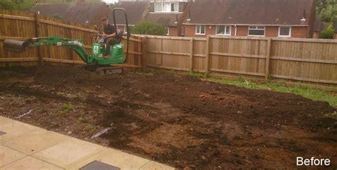 how to level garden landscaping decking patios play house sleeper wall garden design sutton coldfield