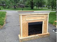 how to build a fireplace 15 Elegant DIY Fireplace Mantel And Surrounds – Home And Gardening Ideas