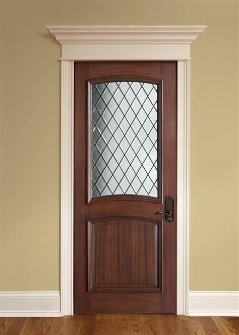 doors for builders interior door custom single solid wood with walnut