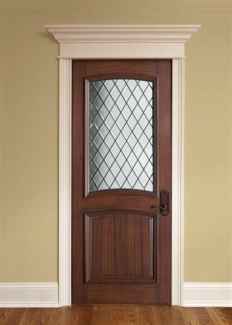 price to finish a basement interior door custom single solid wood with walnut