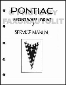 1983 Pontiac J2000  U0026 Sunbird Repair Shop Manual Original