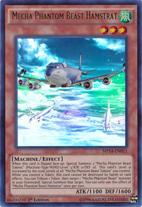 mecha phantom beast deck list mecha phantom beast hamstrat yu gi oh it s time to duel