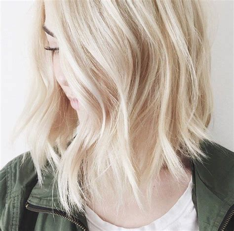 white blonde bob beauty inspo   white blonde