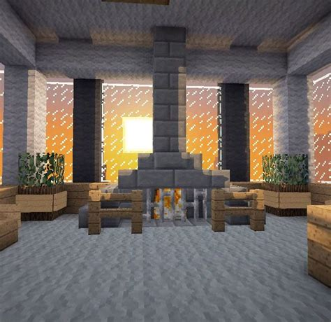 Cool Living Room Minecraft by Minecraft Furniture Fireplaces I M Jealous Of This I