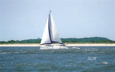 Sailboat On Water by Sailboat On The Water Photograph By Hartsell