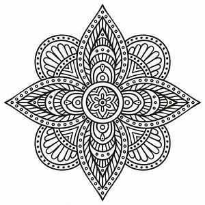 Geniales Dibujos De Mandalas Para Colorear E Imprimir ...
