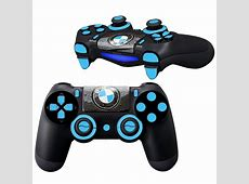 BMW design PS4 Controller Full Buttons skin Faceplates