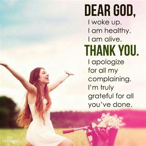 Thank You God I Am Grateful Quotes