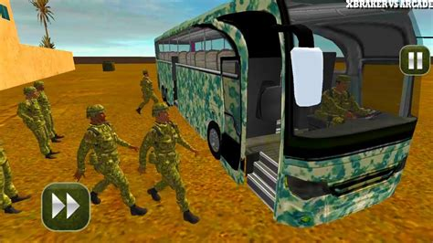 Military Coach Transporter New Bus