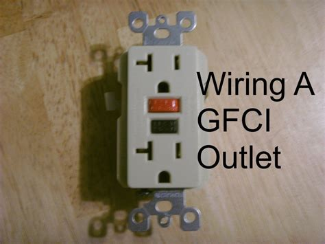 how to wire an outlet how to install a gfci outlet dengarden