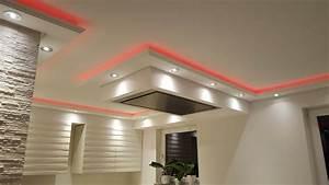 Küche Indirekte Beleuchtung : indirekte beleuchtung wand und decke mit stuckprofilen bendu ~ Bigdaddyawards.com Haus und Dekorationen