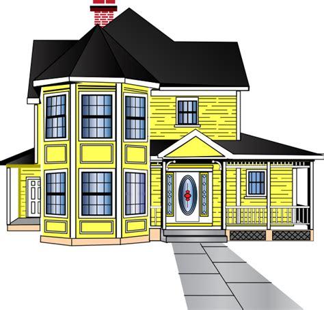 Little Yellow House Clip Art At Clker Vector Clip Art
