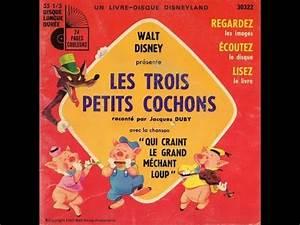Youtube Trois Petit Cochon : les trois petits cochons walt disney youtube ~ Zukunftsfamilie.com Idées de Décoration