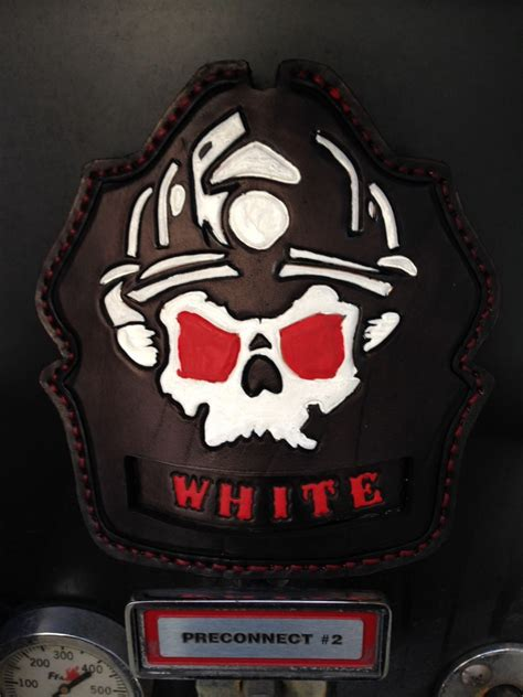 custom tooled firefighter helmet front fire helmet shields