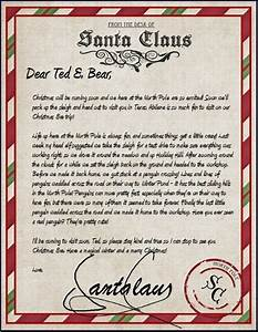 official letter from santa sample letter template With official letters from santa reviews