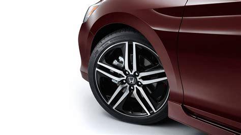 honda accord   spoke slotted wheels