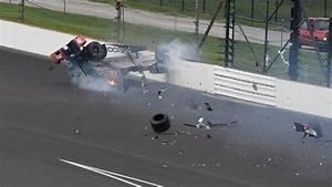 Accident Bourdais Indianapolis : vid o le pilote s bastien bourdais victime d 39 un accident spectaculaire l 39 express ~ Maxctalentgroup.com Avis de Voitures
