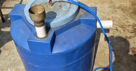 homemade medium size biogas plant  kitchen waste