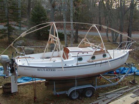 Sailing Boat Covers by New Boat Cover Frame