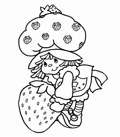 Coloring Cabbage Patch Strawberry Sheets Shortcake Crafts