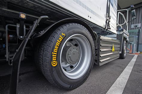 Continental Equips Electric Truck