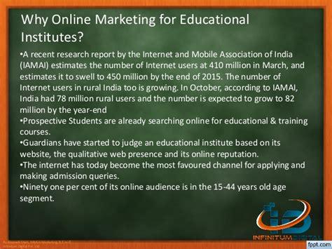 digital marketing for education digital marketing for education sector
