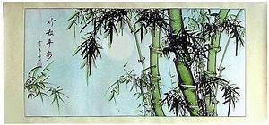 Bamboo Chinese Brush Paintings