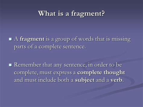 Fragments  Ppt Video Online Download