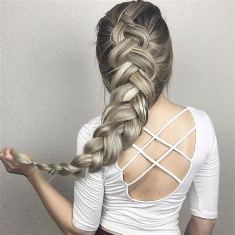 cool dutch braid ideas versatile  exotic hair trends