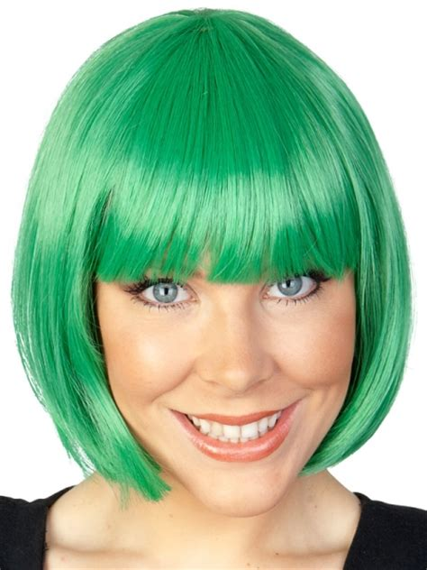st patricks ay green wig  sale creative costumes