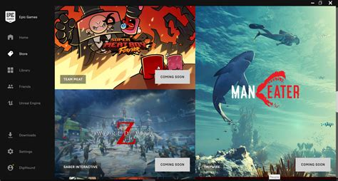 Epic Launches New Games Store With Handful Titles
