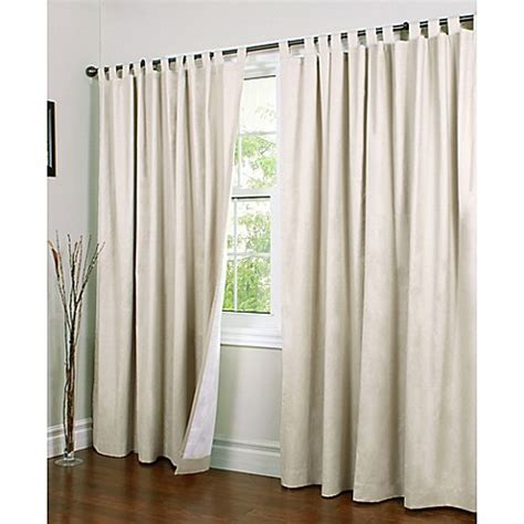 wide panel curtains buy thermalogic 174 weathermate 84 inch wide tab top