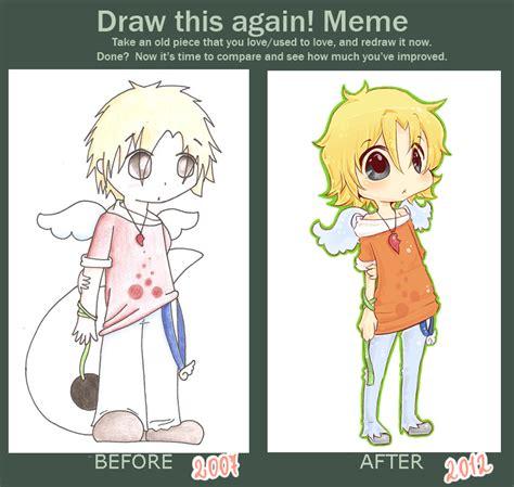 Draw This Again Meme Fail - draw this again meme by chibigaby on deviantart